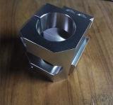 Piezas de aluminio de la máquina del CNC de la precisión que muelen