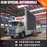 Tamaño grande China Mobile Display LED Van Cuerpo Outdoor LED Display Truck