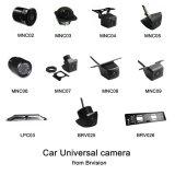 Mini câmera reversa impermeável universal para o carro