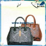 Bw1-077 de Reeks van de Handtas van PU/Leather van de Vrouwen van de Zak van de Hand van de Portefeuille van Dames 3PCS