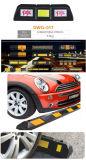 Tapónes de goma durables de la rueda para los estacionamientos