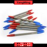 I giochi di gioco del casinò del Baccarat/hanno dedicato blu e la penna di funzione della penna di sfera di colore rosso 2 può abitudine di affari con il marchio Ym-Pn02