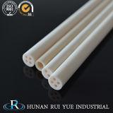 Alúmina tubo de cerámica de Rod/del tubo/del calentador 95%/Ceramic de las virolas el 99%