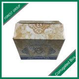 Alta qualità su ordinazione contenitori ondulati di vino di colore dei 4 pacchetti