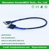 LCD ao cabo liso do LCD do cabo do cartão-matriz