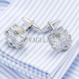 Cufflinks Gemelos 501 венчания Groom законоведа верхнего качества соединений тумака VAGULA кристаллический