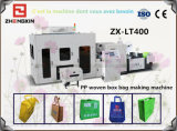 Bolso reutilizable no tejido de la tela del profesional que hace la máquina (ZX-LT400)
