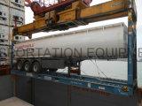 Axle 21000liter 2 топлива топливозаправщика трейлер Semi