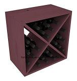 Cubo do vinho do pinho de Ponderosa da cremalheira do cubo do vinho