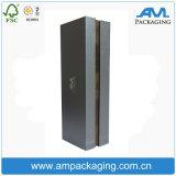 적포도주 포장을%s 까만 주문 로고 Dongguan 접을 수 있는 Foldable 상자