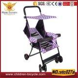 Passeggiatori esterni del bambino del manubrio delle rotelle della sede quattro di sicurezza dei capretti di nuovo anno 4 In1 per il commercio all'ingrosso