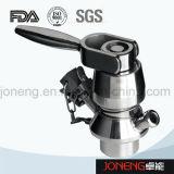 Válvula Socketed da amostragem da transformação de produtos alimentares do aço inoxidável (JN-SPV1002)