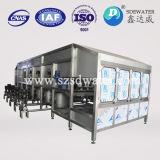 Завалка бутылки минеральной вода 5 галлонов автоматическая/покрывать/машина для прикрепления этикеток