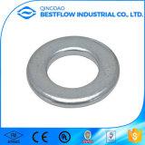 Rondelle d'entretoise d'acier de la bonne qualité DIN 125 de dispositifs de fixation/à plat rondelle