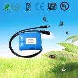 1s2p 3.7V het Navulbare Pak van de Batterij van het Lithium Ionen (4400mAh) voor Massager