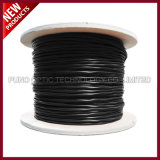 1000FT Spool Cat7 Blindé et suspendu SFTP Solid LSZH Câble Ethernet noir en vrac