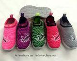 Впрыска вскользь ботинок Slip-on горячих детей сбывания обувает тапку (FF924-5)