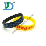 Wristband do silicone do OEM do Imprint, faixa de pulso do silicone, faixa do silicone
