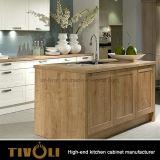 Porta deDobramento de Caibnet da cozinha com iluminação para as cozinhas extravagantes Tivo-D0044h