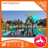 GS approuvé 2017 Kid Plastic Slide Outdoor Playground pour enfants
