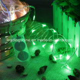 Батарея медного провода света шнура СИД звёздная - приведенная в действие светом украшения таблицы рождества партии Cr2032 Fairy