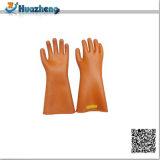 高品質労働の絶縁のゴム製電気抵抗力がある手の手袋
