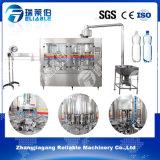 Máquina de rellenar del agua pura plástica de la botella de la pequeña escala