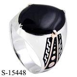 Anel modelo agradável do homem do anel de prata da prata esterlina da jóia 925