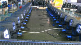 LEIDENE 4*25W Super Straal die het HoofdLicht van het Stadium bewegen