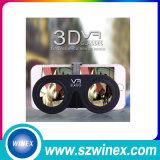 지능적인 전화를 위한 Google 마분지 Vr 가상 현실 3D 유리