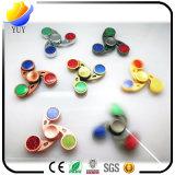 Hand Spinner Alunimun Alloy LED Flashing Fidget Spinner Toy