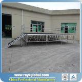 Estágio usado do concerto do estágio da segurança estágio portátil de alumínio móvel coral superior para a venda
