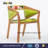 أثر قديم خشبيّة كرسي تثبيت مقهى كرسي تثبيت و [هوتسل] يتعشّى كرسي تثبيت [سب-س0341]
