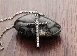 Juwelen van de Halsband van de Tegenhanger van de Mensen van het Roestvrij staal van het Titanium van de manier de Godsdienstige Dwars