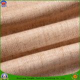 Tissu tissé de flocage imperméable à l'eau de polyester de textile à la maison pour le rideau et le sofa