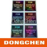 Étiquettes d'hologrammes colorés à l'estampage à chaud