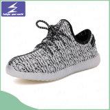 Chaussures chaudes de la vente DEL avec la couleur de 7 DEL pour des gosses et des adultes