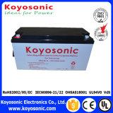Batterie solaire électrique de gel de batterie de réverbère de 12V 120ah