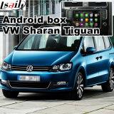 Android поверхность стыка системы навигации GPS видео- для Фольксваген Sharan
