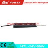 bloc d'alimentation imperméable à l'eau de l'interpréteur de commandes interactif en aluminium continuel DEL de la tension 24V-50W