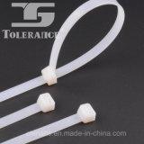 Las tallas de nylon plásticas de la atadura de cables con Ce aprobaron