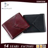 Популярный изготовленный на заказ бумажник женщин карманн монетки неподдельной кожи качества конструкции логоса