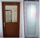 La venatura del legno UPVC sceglie il portello della toletta del portello del foglio (BHP-CD24)