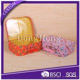 Cartulina al por mayor de encargo Maleta caja de regalo con la manija de la Infancia