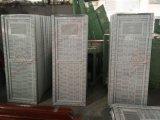 Woodgrain UPVC определяет дверь туалета двери листьев (BHP-CD24)