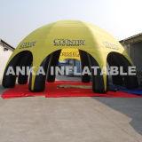 Barraca portátil inflável da aranha do dossel do anúncio ao ar livre