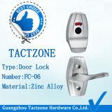 Modern Factory Directly Zinc Alloy Toilet Door Lock com alça