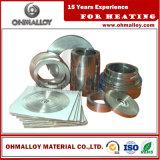 いろいろな種類の陶磁器の抵抗器のためのゲージNi70cr30のストリップによってアニールされる合金