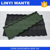 Плитка крыши металла алюминиевого камня плиты цинка цветастого Coated