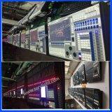 Sezione comandi dell'ala DMX del regolatore di illuminazione Ma2 grande